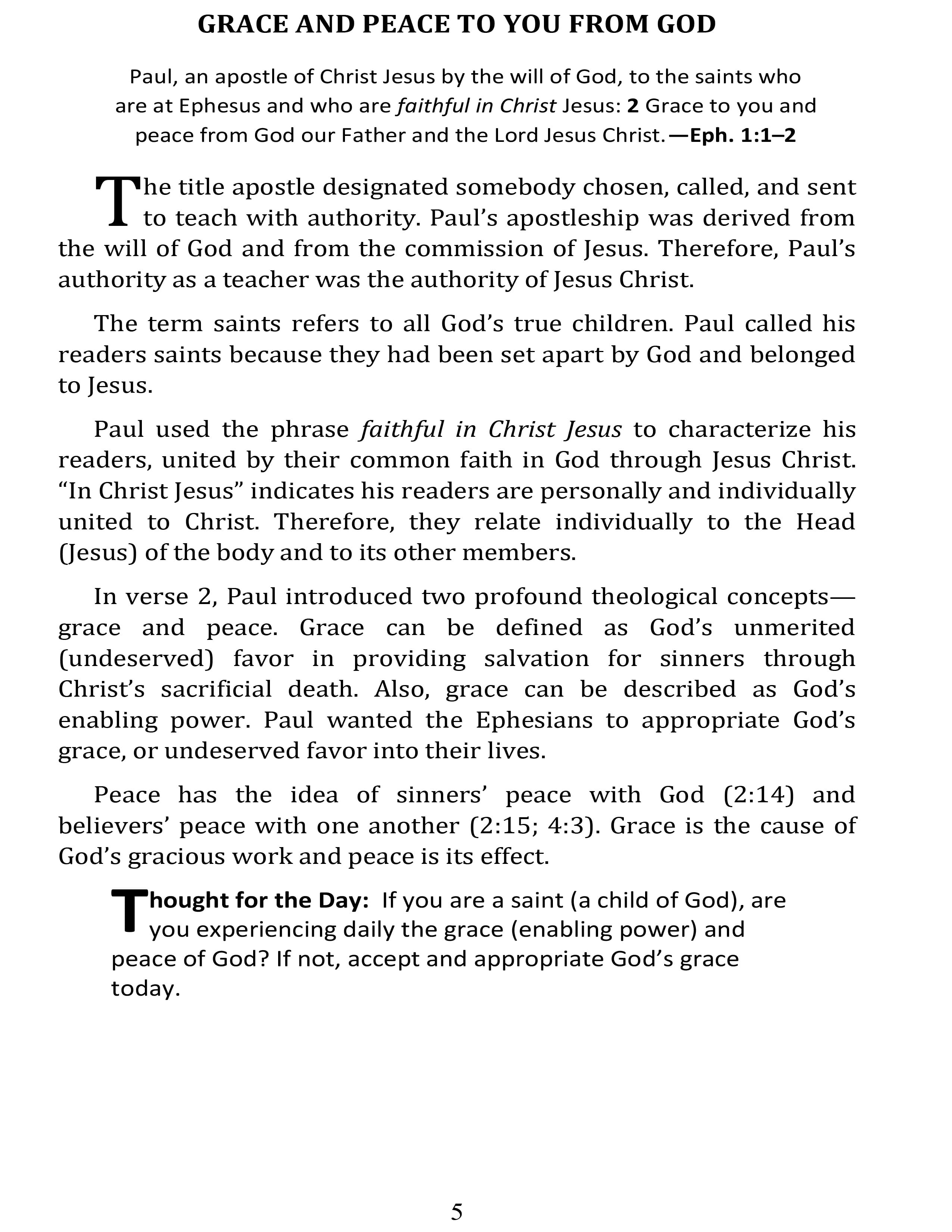 Page 21 | Day by Day in Ephesians | Don Eugene Atkinson