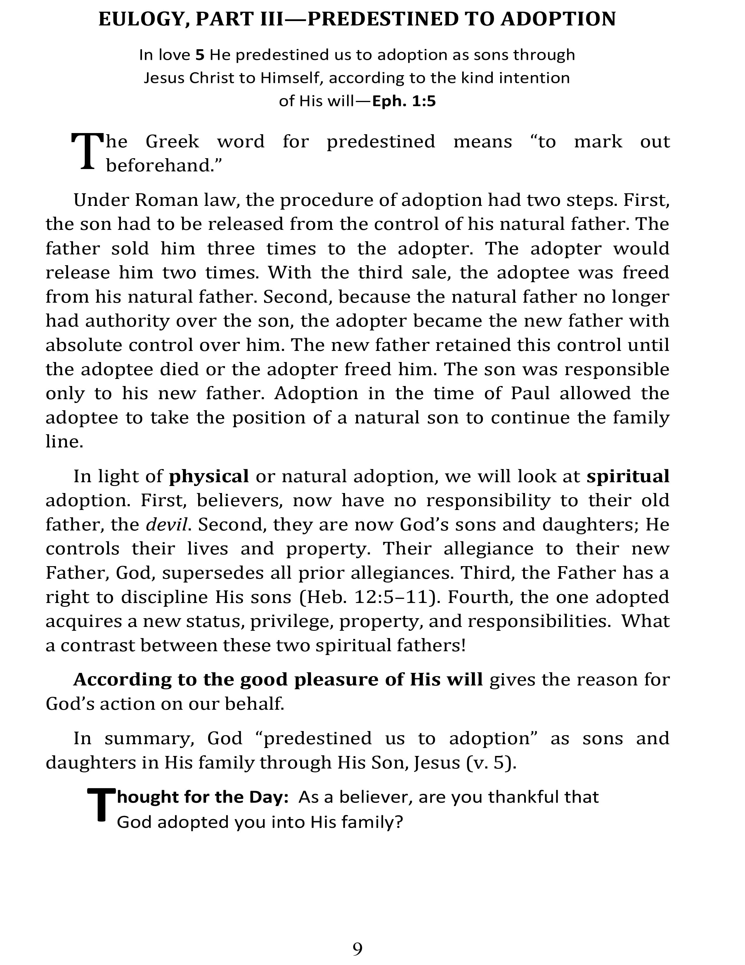 Page 25 | Day by Day in Ephesians | Don Eugene Atkinson
