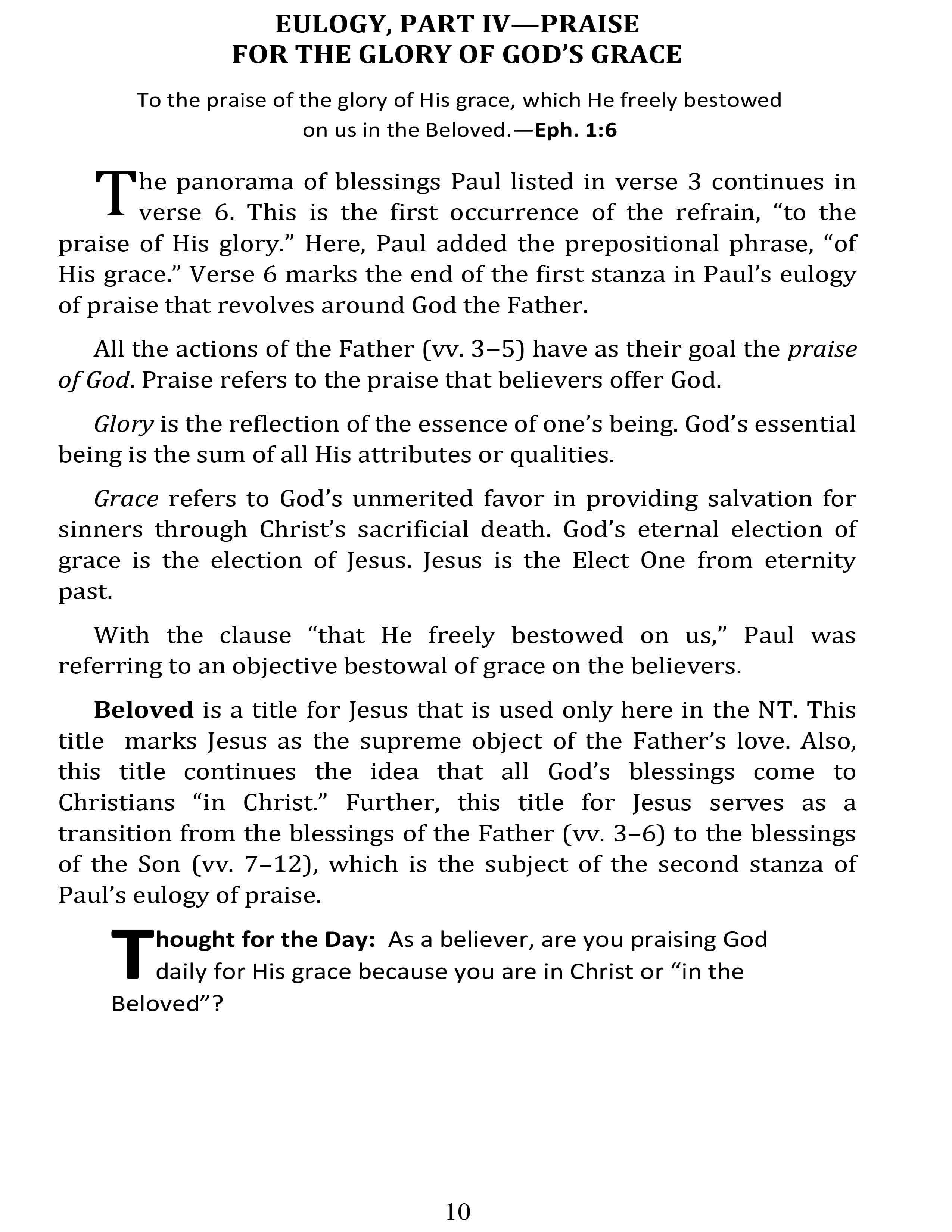 Page 26 | Day by Day in Ephesians | Don Eugene Atkinson